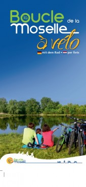 Bike paths along the Moselle river loop new map